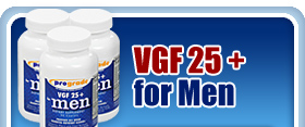 VGF supplements and vitamins for men