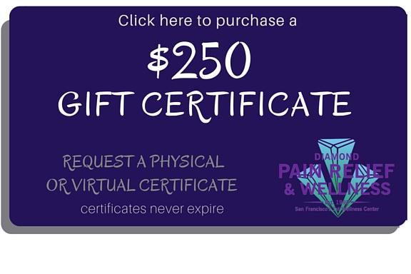 San Francisco massage DWC $250 Gift Card, Gift Certificates Image